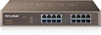 Product image for TP-Link 16 Port Gigabit Rackmount Switch 13-in Case no brackets | AusPCMarket Australia