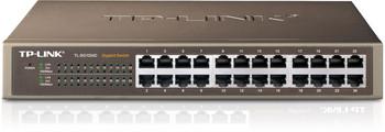 Product image for TP-Link 24 Port Gigabit Rackmount Switch 13-in Case no brackets | AusPCMarket Australia