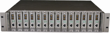 Product image for TP-Link 14-slot Unmanaged Media Converter Chassis, Single Power Supply | AusPCMarket.com.au