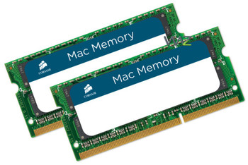Product image for Corsair 8GB (2x 4GB) DDR3 1066MHz SODIMM Memory for Mac | AusPCMarket Australia