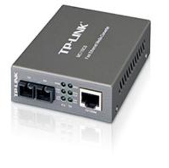 Product image for TP-Link MC110CS 10/100M RJ45 to 100M single-mode SC fiber Converter | AusPCMarket Australia