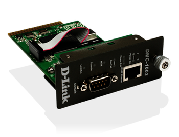 Product image for D-Link Dmc-1002 SNMP Management Module for DMC-1000 Chassis System | AusPCMarket Australia