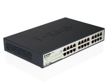 D-Link DGS-1024D 24-Port Gigabit Unmanaged Switch - Durable Metal Housing Product Image 2