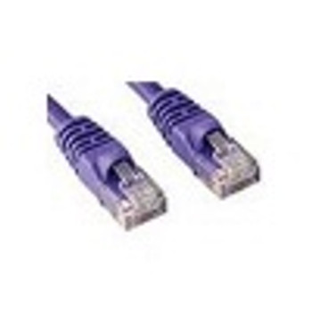 Product image for CAT5e PATCH CORD 0.5M PURPLE Network Cable 453448 | AusPCMarket Australia