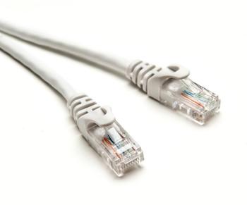 Product image for CAT5e PATCH CORD 10M WHITE Network Cable 34506 | AusPCMarket Australia