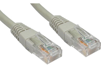Product image for CAT5e PATCH CORD 10M GREY Network Cable 32595 | AusPCMarket.com.au