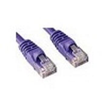 Product image for CAT5e PATCH CORD  5M PURPLE Network Cable 45349 | AusPCMarket Australia