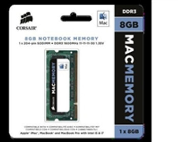 Product image for Corsair 8GB Mac Memory, 1600MHz DDR3 memory module for Apple iMac | AusPCMarket Australia