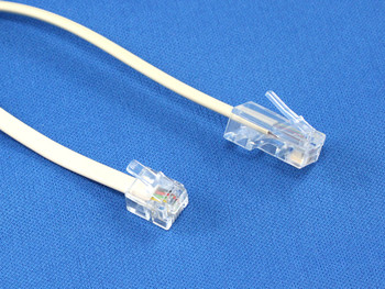 Product image for 2M RJ45/RJ12 Telephone Cable | AusPCMarket.com.au