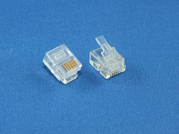 Product image for 6P6C Connector for DIY cabling | AusPCMarket Australia