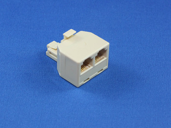 Product image for RJ12 Modular Double Adaptor | AusPCMarket Australia