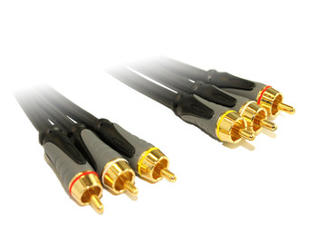 Product image for 3M High Grade RCA A/V Cable with OFC | AusPCMarket Australia
