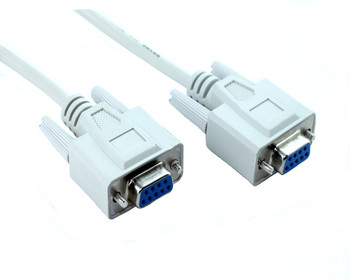 Product image for 5M DB9F/DB9F Null Modem Cable | AusPCMarket Australia