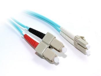 Product image for 15M OM4 LC-SC M/M Duplex Fibre Cable | AusPCMarket Australia