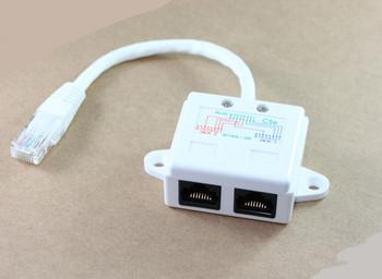 Product image for RJ45 Data/Data Splitter | AusPCMarket Australia