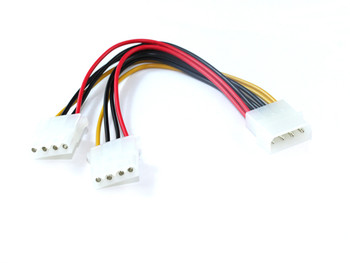 Product image for 15CM Molex Power Splitter Cable | AusPCMarket Australia