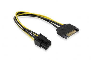 Product image for 15CM SATA M To ATX P6 Cable | AusPCMarket Australia