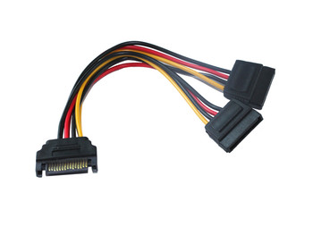Product image for 20CM SATA Power Splitter Cable | AusPCMarket Australia