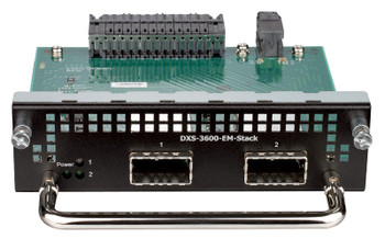 Product image for D-Link 2-Port 120G CXP stacking module for DXS-3600-32S - DXS-3600-EM-STACK | AusPCMarket Australia