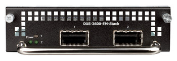 D-Link 2-Port 120G CXP stacking module for DXS-3600-32S - DXS-3600-EM-STACK Product Image 2