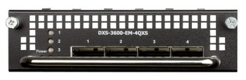 D-Link 4-Port 40G QSFP+ Module for DXS-3600-series - DXS-3600-EM-4QXS Product Image 2