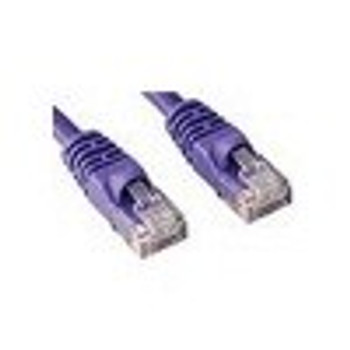 Product image for 0.5M CAT6  PATCH CORD PURPLE Network Cable | AusPCMarket Australia