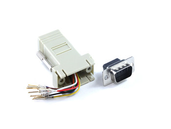 Product image for DB9M To RJ45 F Adaptor | AusPCMarket Australia