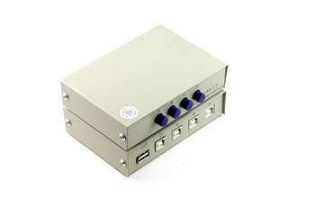 Product image for 4 Way USB 2.0 Push-Button Data Switch | AusPCMarket Australia