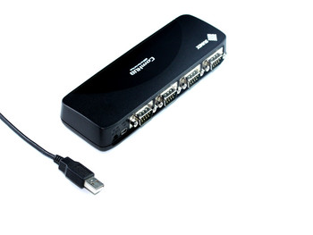 Product image for USB To 4 x Serial Port Adaptor | AusPCMarket Australia