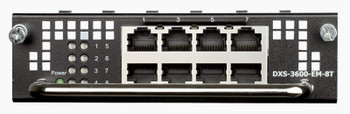 D-Link 8--Port 1000Base-T Module For Dxs-3600-Series Product Image 2