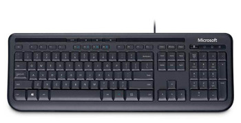 Product image for Microsoft Wired Keyboard 600 - Black | AusPCMarket.com.au