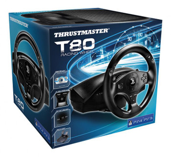 Thrustmaster T80 Racing Wheel For PS3 & PS4 Product Image 2