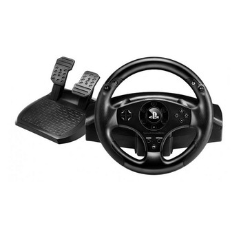Product image for Thrustmaster T80 Racing Wheel For PS3 & PS4 | AusPCMarket Australia