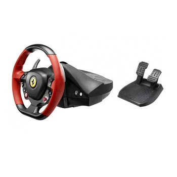 Product image for Thrustmaster Ferrari 458 Spider Racing Wheel for Xbox One | AusPCMarket Australia
