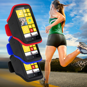 Product image for EZCool Gym Running Sport Armband for Universal Mobile Phone | AusPCMarket Australia