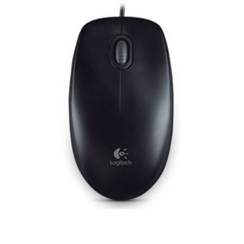 Product image for Logitech B100 Optical USB Black Mouse | AusPCMarket Australia