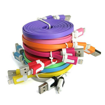 Product image for USB Full Charger Data Cable For iPhone 5 iPad 4 Mini iPod Touch | AusPCMarket Australia