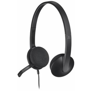 Product image for Logitech H340 USB Headset Black | AusPCMarket Australia