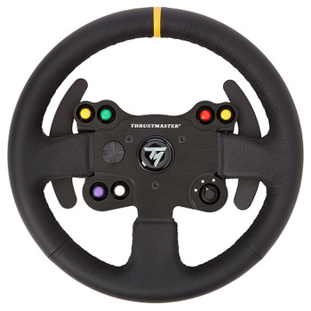 Product image for Thrustmaster Leather 28 GT Wheel Add On For T-Series | AusPCMarket Australia