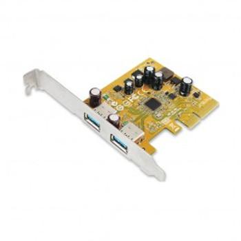 Product image for Sunix USB2312 Sunix USB3.1 Dual ports PCI Express Host Card with USB-A | AusPCMarket Australia