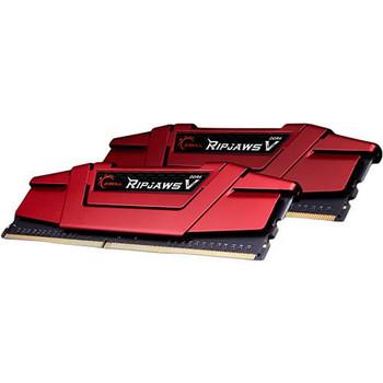 Product image for G.Skill Ripjaws V 16GB (2x 8GB) DDR4 2400MHz Memory Red | AusPCMarket Australia