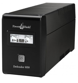 Product image for PowerShield Defender 650VA / 390W Line Interactive UPS | AusPCMarket Australia
