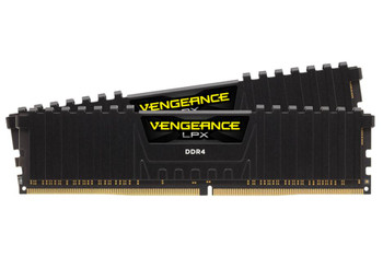 Product image for Corsair 16GB (2x8GB) DDR4-3200 CL16 Vengeance LPX, Black Heatsink | AusPCMarket Australia