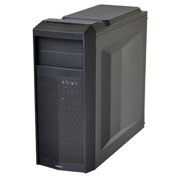 Product image for Lian Li Case PC-K5X Steel Black no PSU | AusPCMarket Australia
