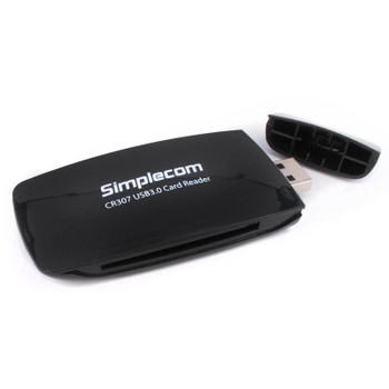 Simplecom CR307 SuperSpeed USB 3.0 All In One Card Reader with CF 4 Slot Product Image 2
