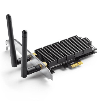 Product image for TP-Link Archer T6E AC1300 Wireless Dual Band PCI Express Adapter | AusPCMarket Australia
