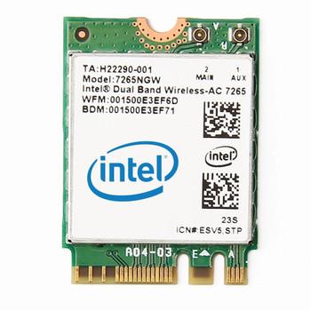 Product image for Intel 7265 Dual Band Wireless-AC M.2 2230 Card | AusPCMarket Australia