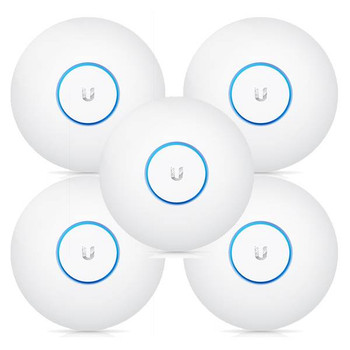 Product image for Ubiquiti Networks UAP-AC-PRO-5 802.11ac Dual-Radio Access Point - 5 Pack | AusPCMarket Australia