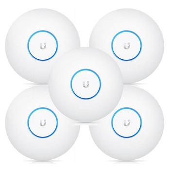 Product image for Ubiquiti Networks UAP-AC-PRO-5 802.11ac Dual-Radio Access Point - 5 Pack | AusPCMarket.com.au