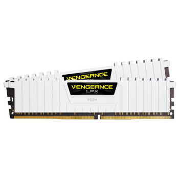 Corsair Vengeance LPX 16GB (2x 8GB) DDR4 3200MHz Memory White Product Image 2